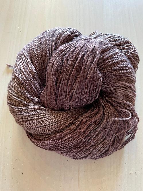 "Great Adirondack Yarn Co Organic Cotton Fingering ""Coffee"""