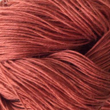 """Lucci Yarn Linen """"Burnt Orange"""""""