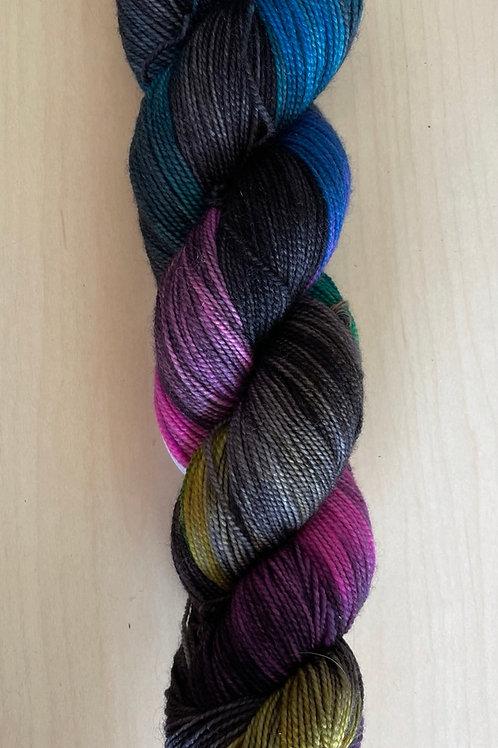 "ColorWae Fiber Arts Color Sock ""Shadow Work"""