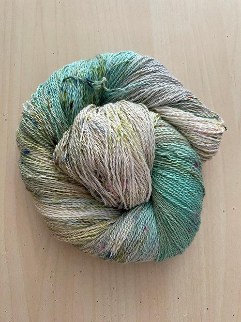 "Great Adirondack Yarn Co Organic Cotton Fingering ""Beach House"""
