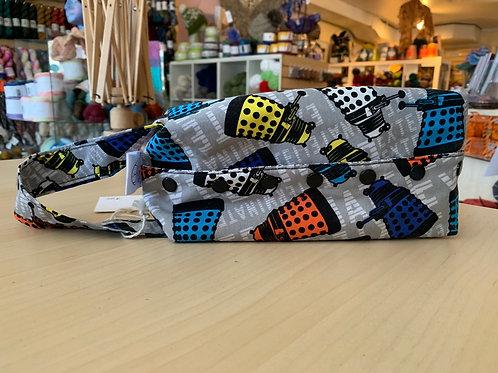"""Rock Solid Designs Kellie Bag Small """"Daleks"""""""