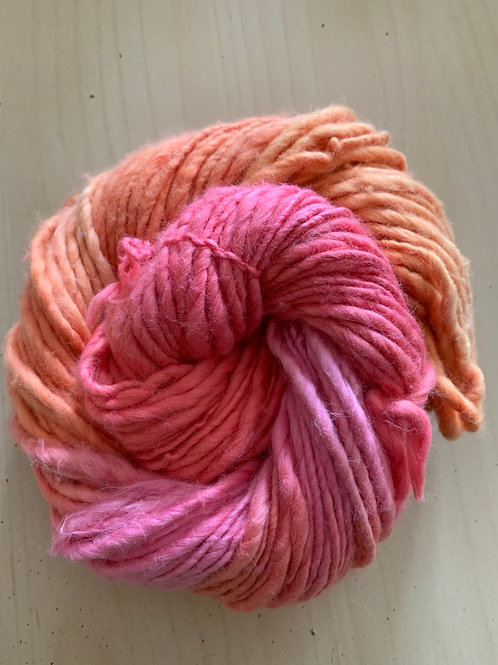 "Great Adirondack Yarn Co. Cotton Homespun ""Peaches"""