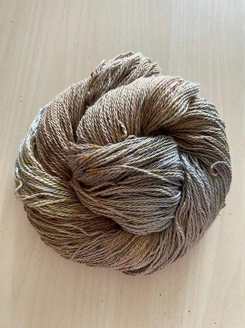 "Great Adirondack Yarn Co Organic Cotton Fingering ""Bronzite"""