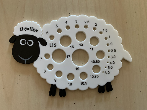 HiyaHiya Sheep Needle Gauge