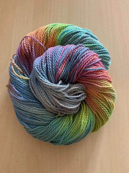 "Great Adirondack Yarn Co. Organic Cotton DK ""Seamist"""