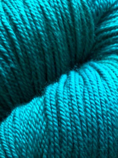 "Sweet Georgia Tough Love Sock ""Viridian"""