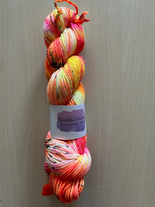 """Brediculous Yarns Aubs Worsted """"Happy Dance"""""""