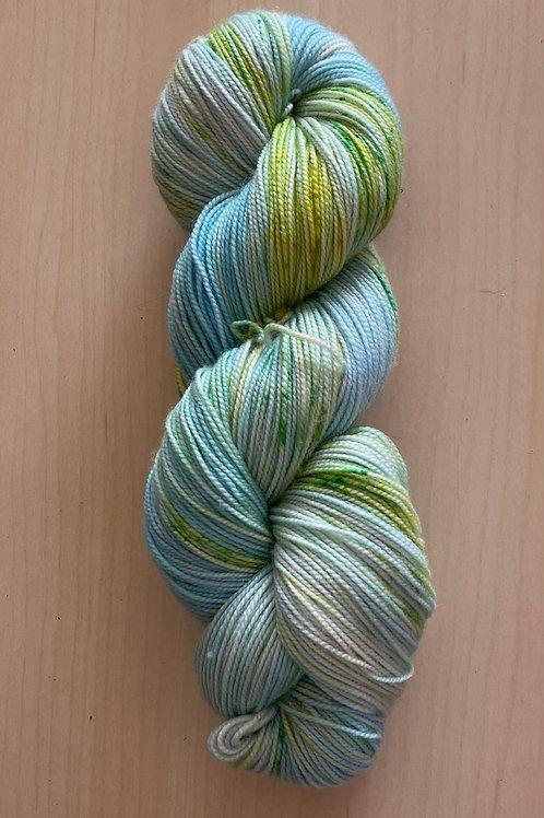 "ColorWae Fiber Arts Color Sock ""Hope"""