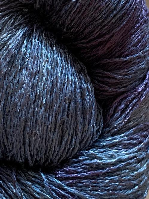 "Blue Heron Cotton & Rayon Twist Lace ""Winter Sky"""