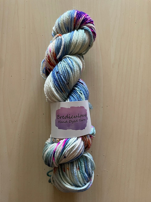 """Brediculous Yarns Aubs Worsted """"Crazy Tuesday"""""""