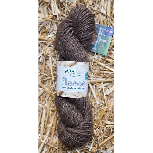 """West Yorkshire Spinners Fleece BFL Roving """"Brown"""""""