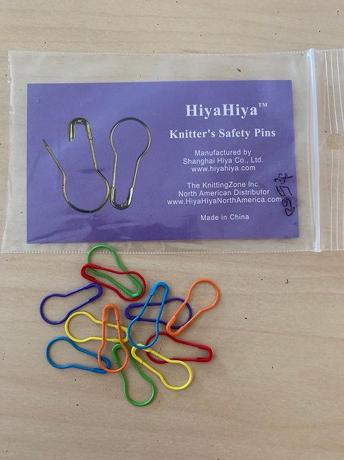 HiyaHiya Knitter's Safety Pin Stitch Markers