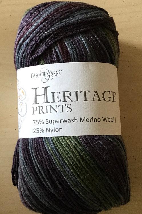 "Cascade Yarns Heritage Prints ""Night Market Stripe"" 73"