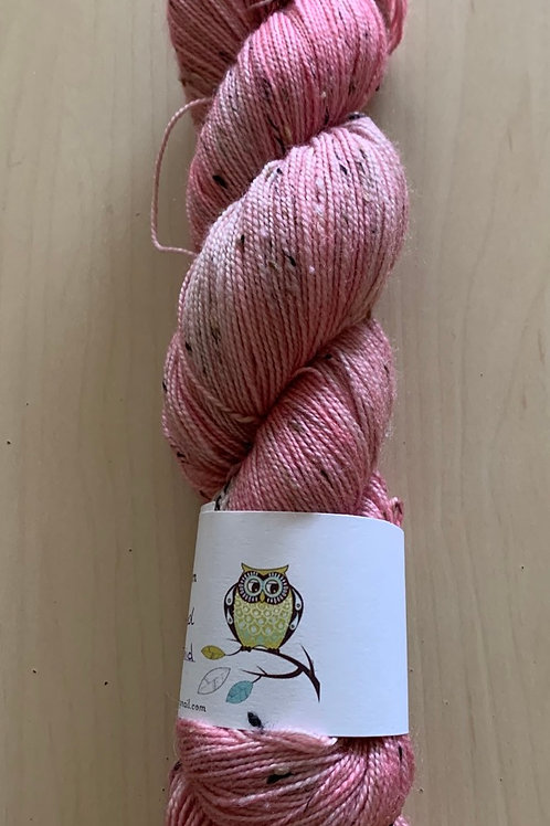 "Tiny Owl Yarn Bailey Tweed ""Pink Orchid"""