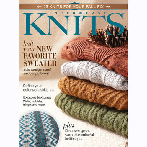 Interweave Knits Fall 2020