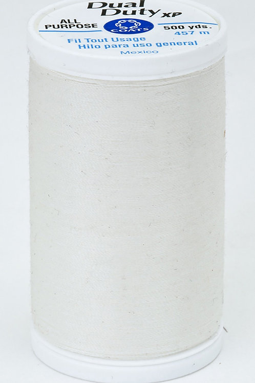 Dual Duty XP Polyester Thread 500yds Winter White