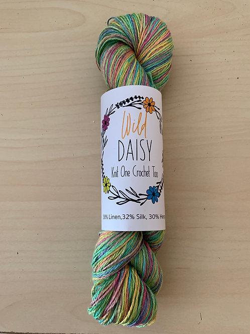 """Knit One Crochet Too Wild Daisy  506 """"Flower Field"""""""