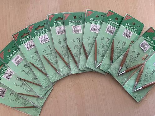 "ChiaoGoo Bamboo 16"" Circular Needles"