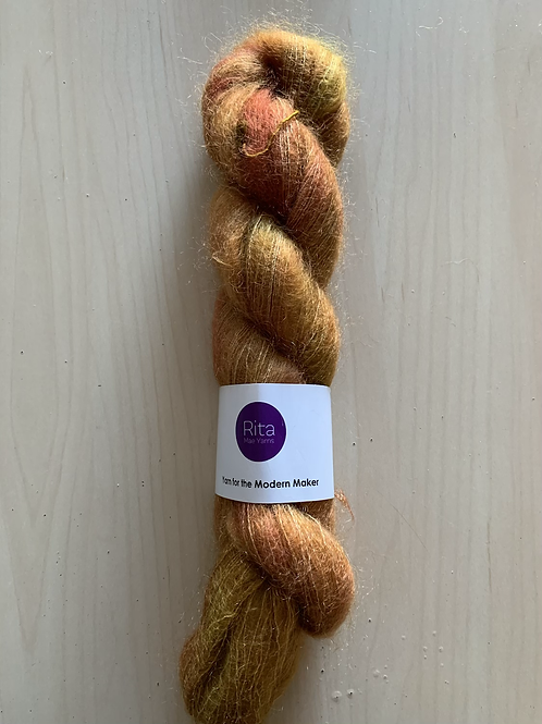 "Rita Mae Yarns Mohair Silk Lace ""Golden Straw"""