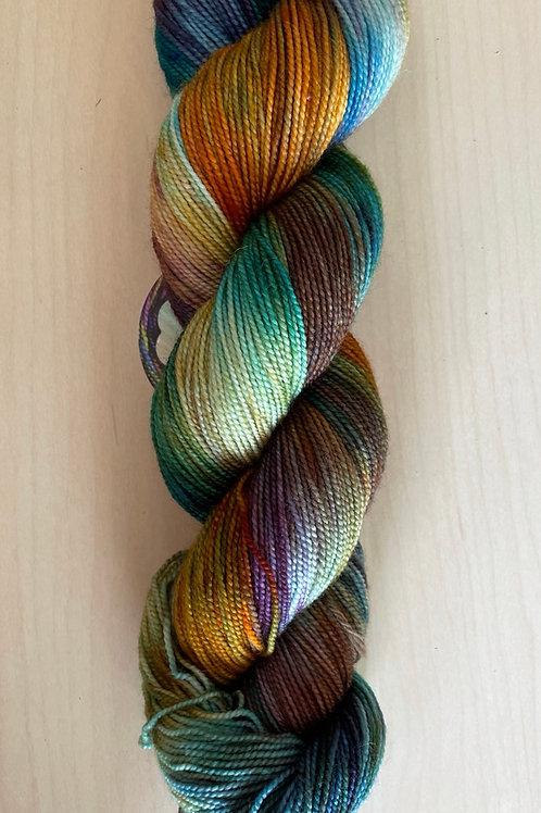 """ColorWae Fiber Arts Color Sock """"Mother Earth"""""""