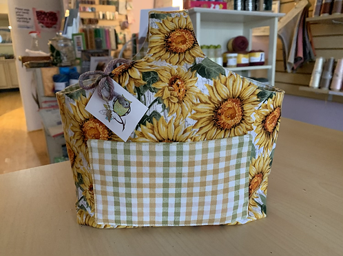 """Tiny Owl Yarns Projects Bag """"Sunflowers"""""""
