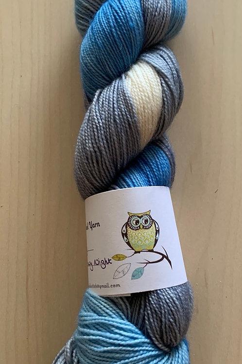 "Tiny Owl Yarn Bailey ""Snowy Night"""