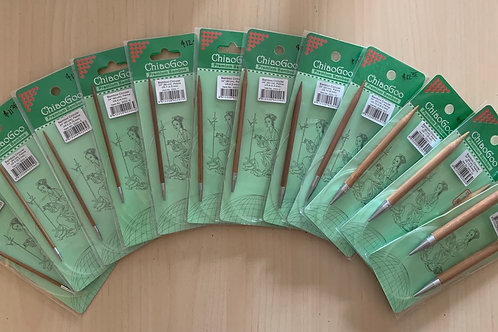 "ChiaoGoo Bamboo 24"" Circular Needles"