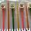 Thumbnail: Pony Children's Straight Knitting Needles Assorted Set