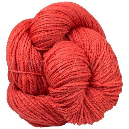 "Brown Sheep Prairie Spun DK ""Coral Rose"" 45"