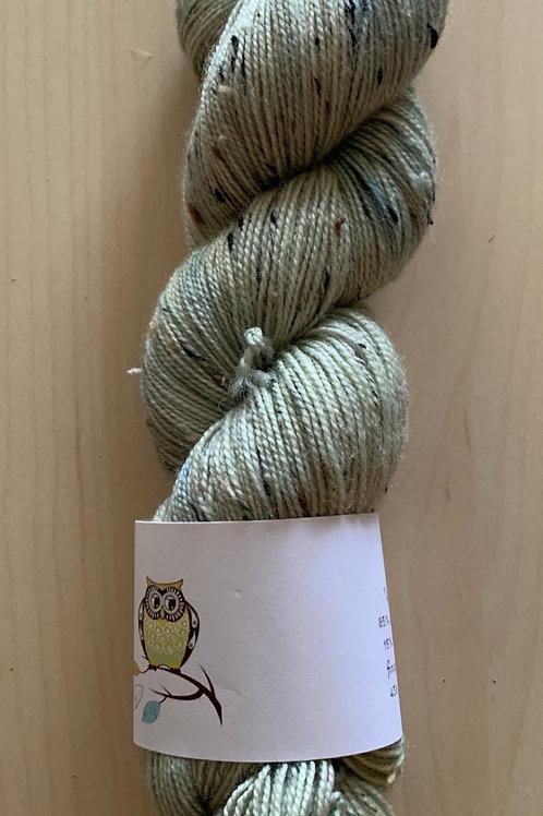 """Tiny Owl Yarn Bailey Tweed """"Sage"""""""