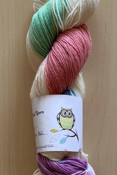 """Tiny Owl Yarn Ellie """"Unicorn Tail"""""""