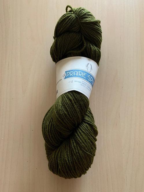 "Brown Sheep Prairie Spun DK ""Medium Olive"" 160"