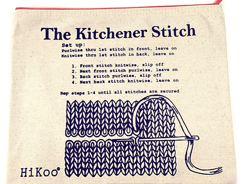Hikoo Kitchener Stitch Project Bag