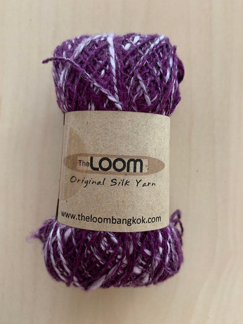 "The Loom Fusilli-80 ""Eggplant"" 03"