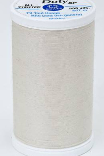 Dual Duty XP Polyester Thread 500yds Natural