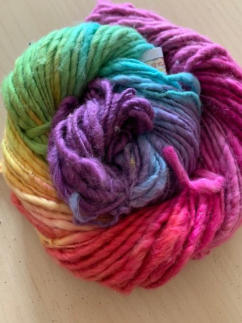 "Great Adirondack Yarn Co. Cotton Homespun ""Confetti"""
