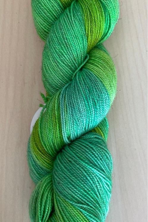 "ColorWae Fiber Arts Sparkle Sock ""Vigor"""