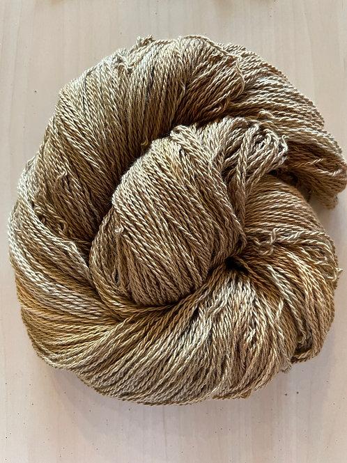 "Great Adirondack Yarn Co Organic Cotton Fingering ""Oak"""