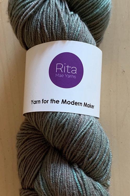 "Rita Mae Yarns Merino Sock ""Sage"""