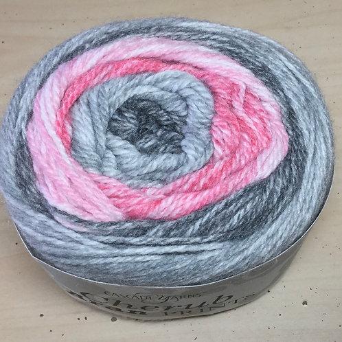 """Cascade Cherub Aran Prints """"Raspberry Smoke"""" 705"""
