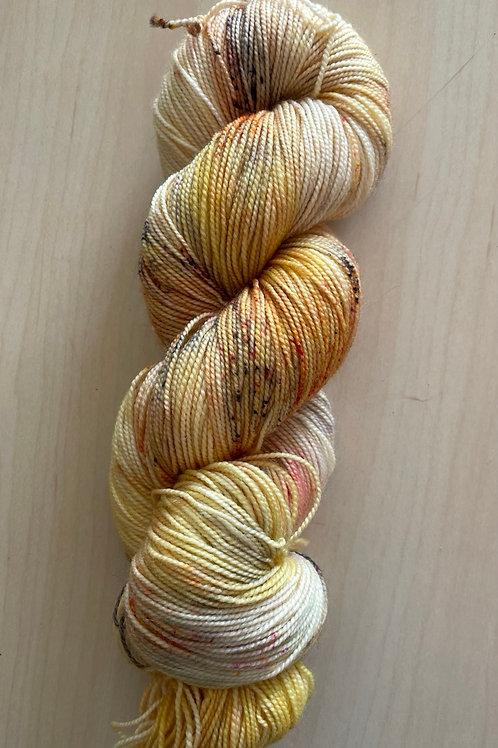 "ColorWae Fiber Arts Color Sock ""Warm Glow"""