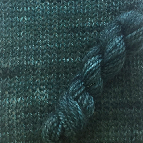 """The Alpaca Yarn Company Symmetry """"Out of Blue Comes Green"""""""