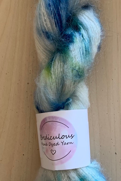 "Brediculous Mohair Lace ""Crystallize"""