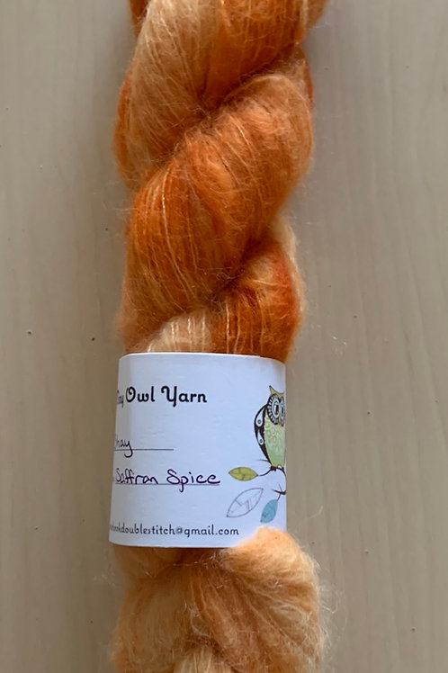 "Tiny Owl Yarn Shay ""Saffron Spice"""