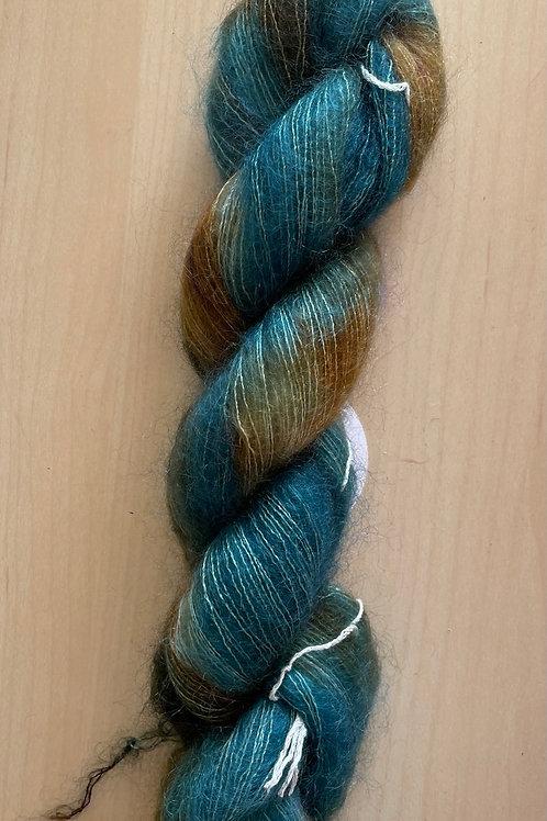 "ColorWae Fiber Arts Color Cloud Mohair ""Patina"""