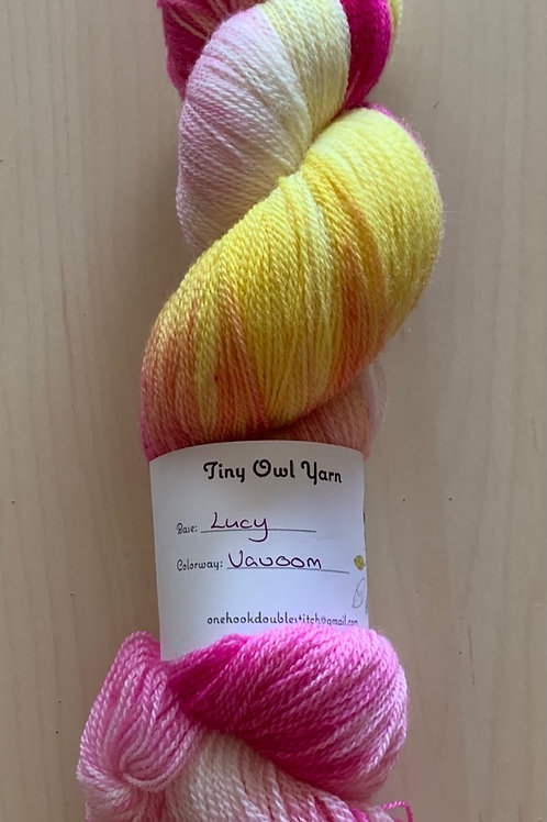 "Tiny Owl Yarns Lucy ""Vavoom"""
