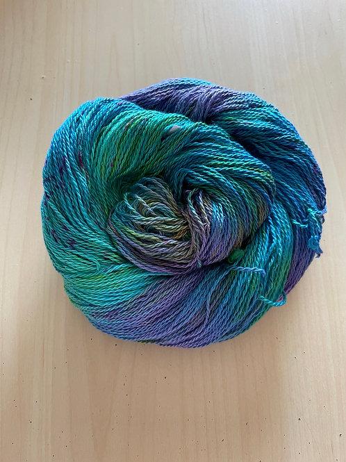 "Great Adirondack Yarn Co Organic Cotton Fingering ""Hydrangea"""