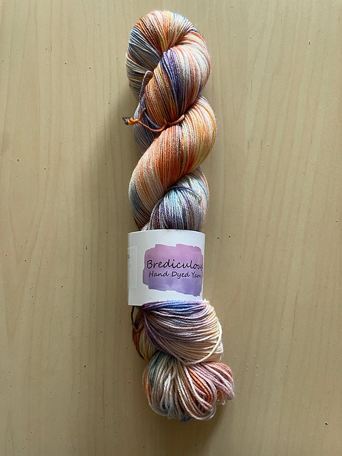 """Brediculous Yarns Addy Sock """"Peace of Mind"""""""