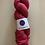 "Thumbnail: Rita Mae Yarns Sweet Pea Sock ""Cherry Lipstick"""