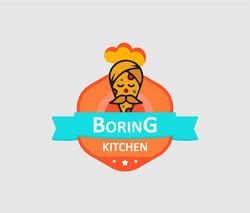 boring kitchen
